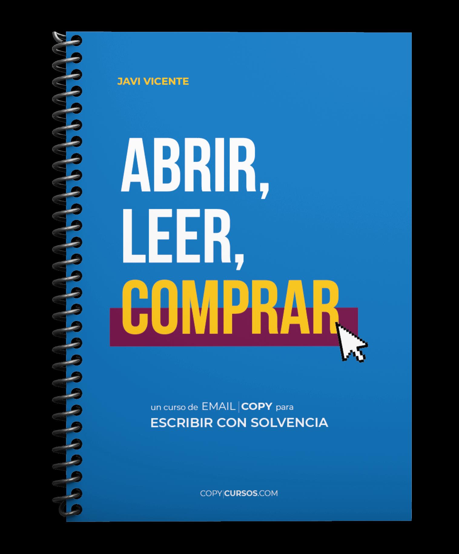 Formación ABRIR, LEER, COMPRAR. Email Copywriting